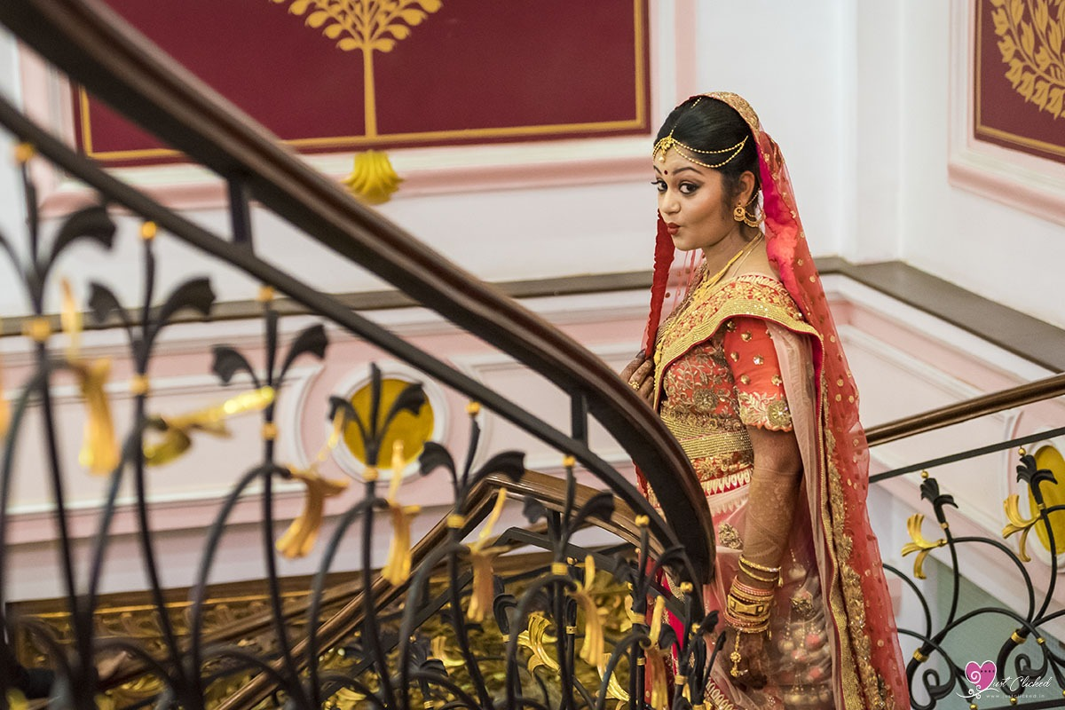Indian wedding bride photography