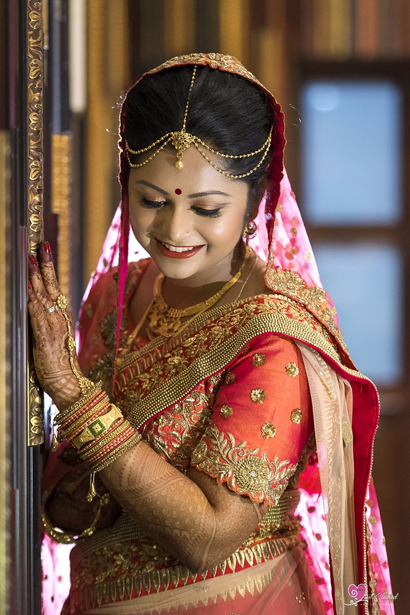 Indian wedding makeup photography