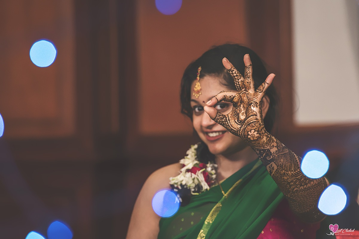 Indian Wedding Mehndi Photography of Shilpi